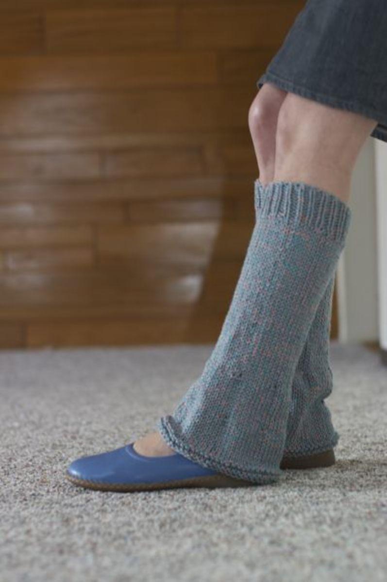Flared Leg Warmers