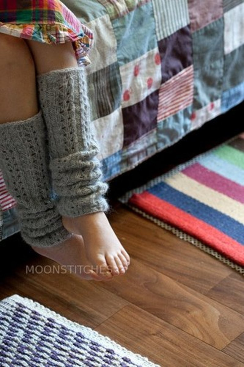 Kirakira Leg Warmers