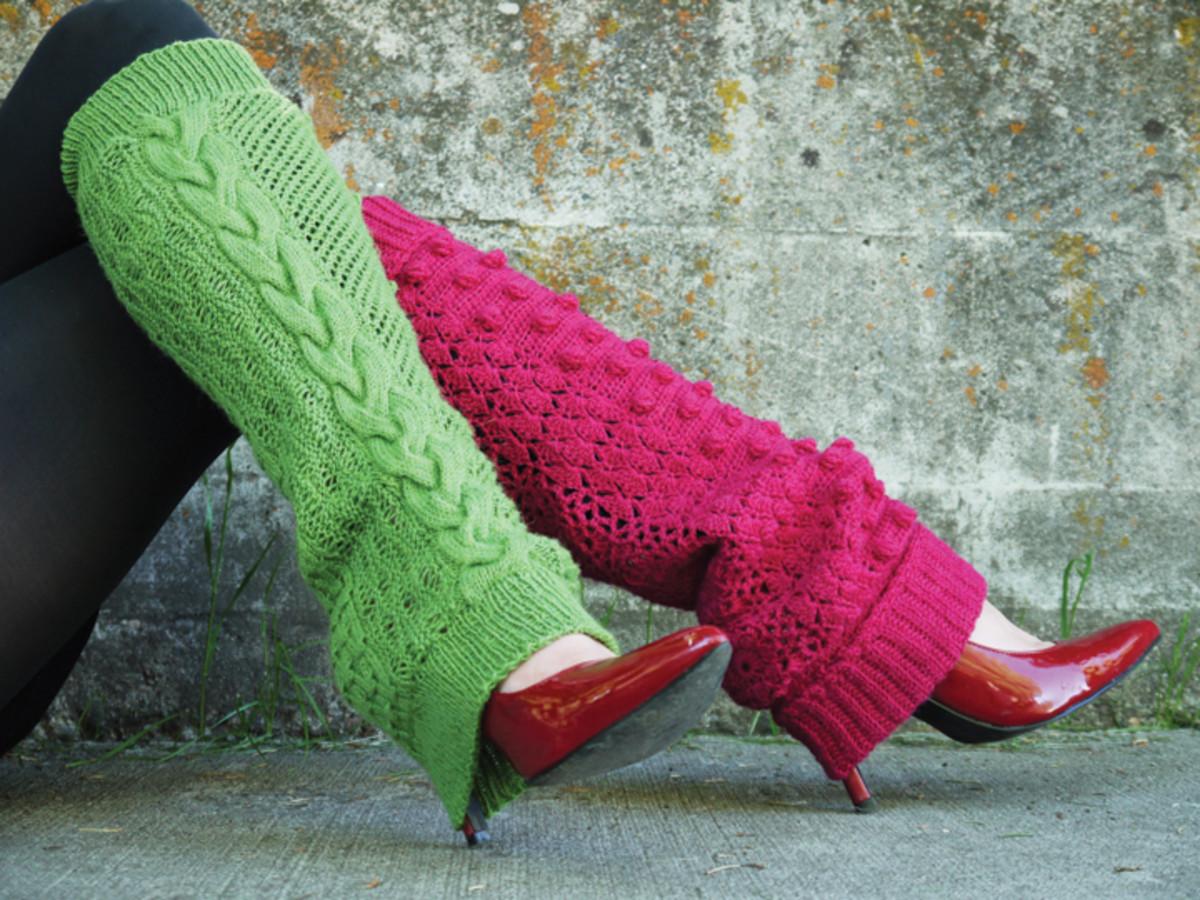 Milli Vanilli Leg Warmers