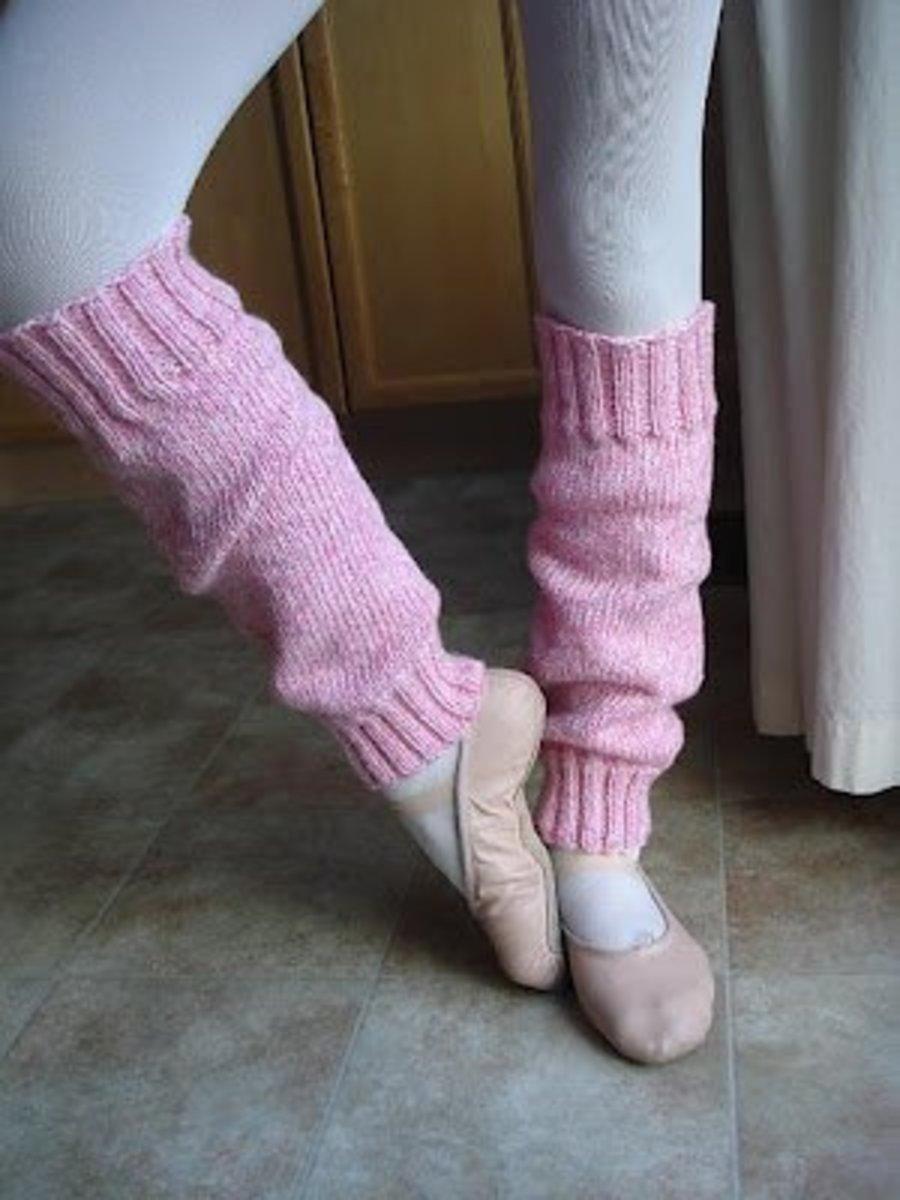 Easy-Peasy Leg Warmers