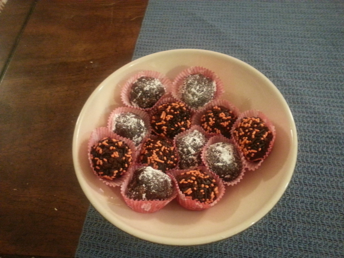Kosher Israeli Chocolate Balls