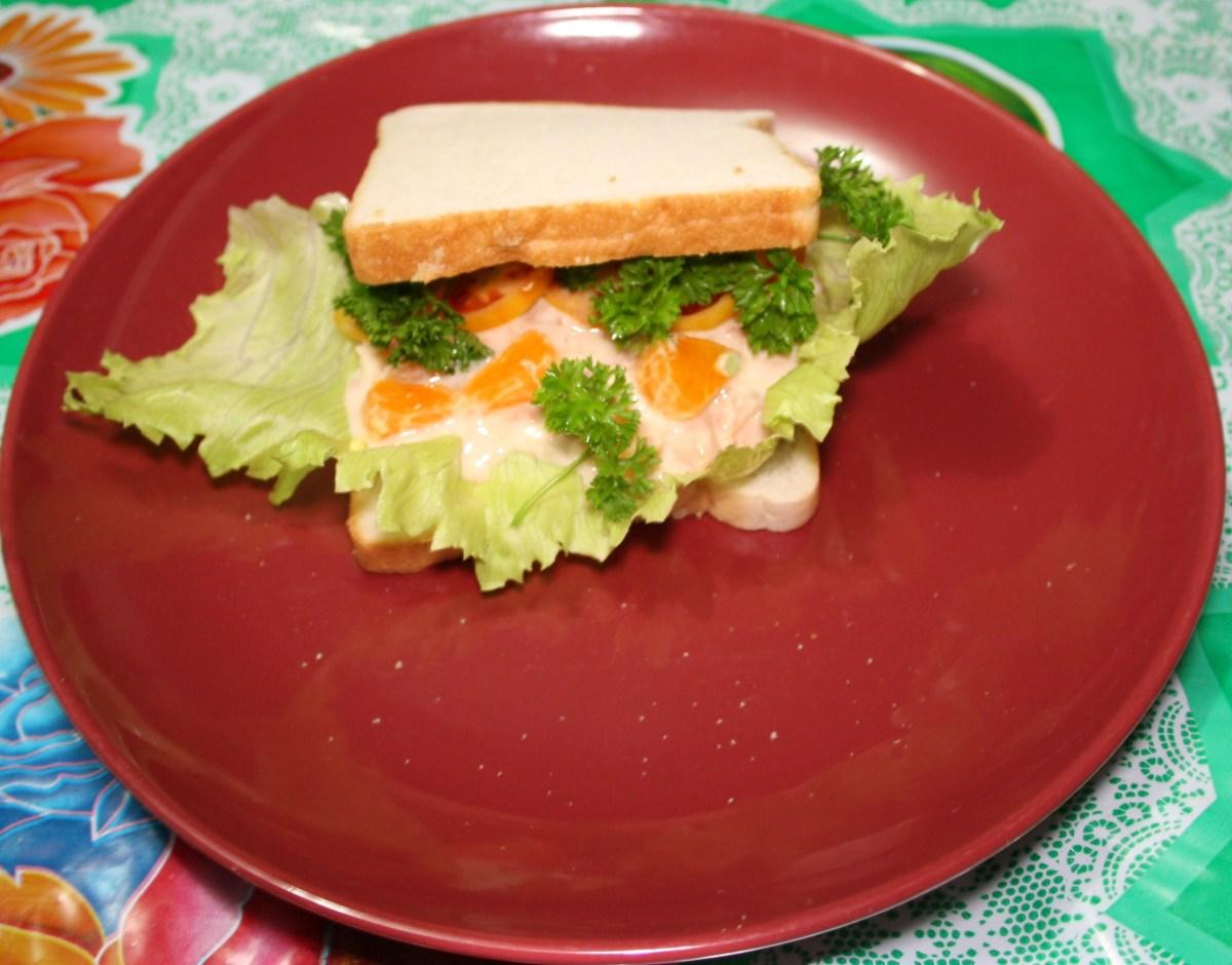 Awesome Tuna Sandwich Recipe