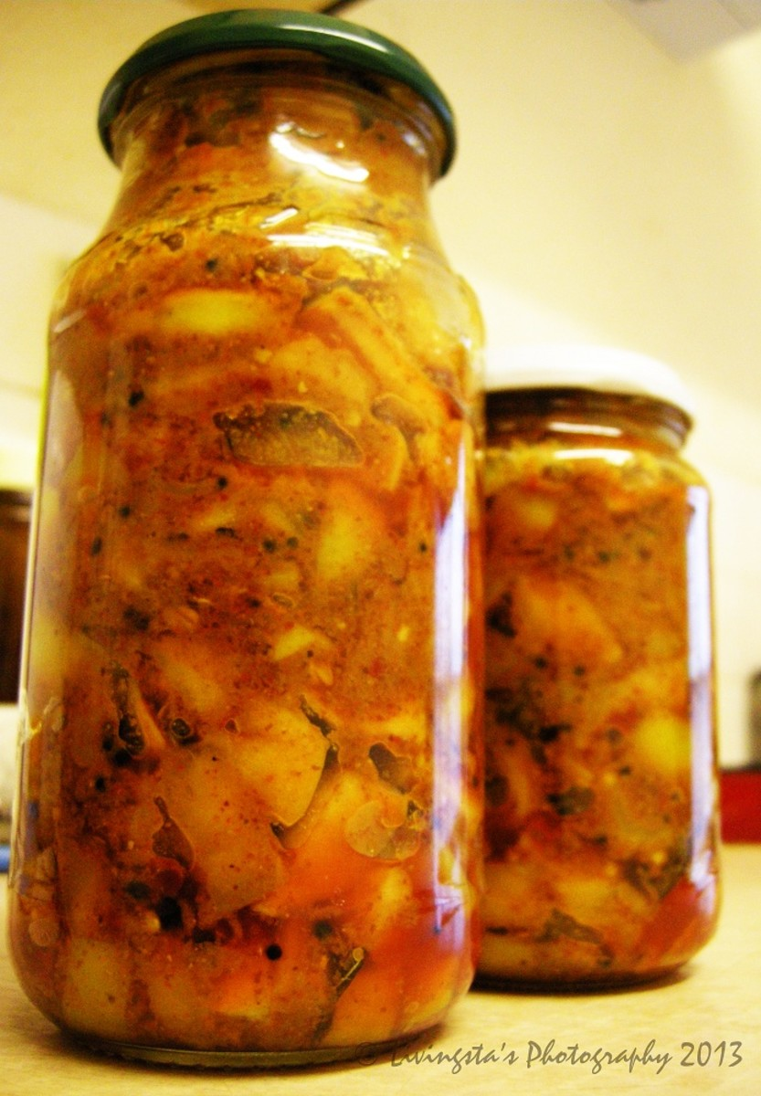 Bottled Apple Pickle