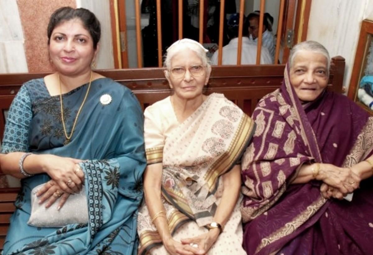Indian Jewish women