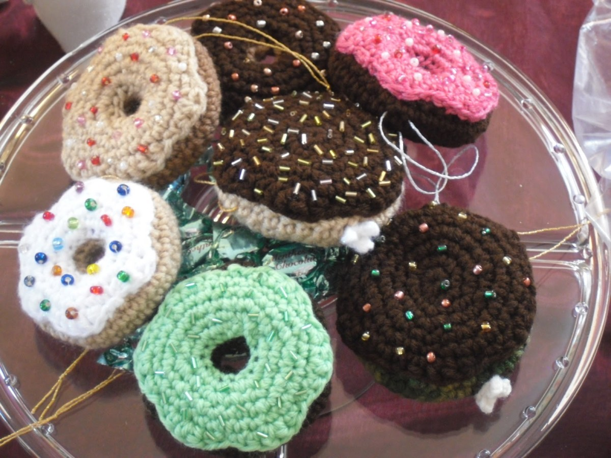 Doughnut Ornaments