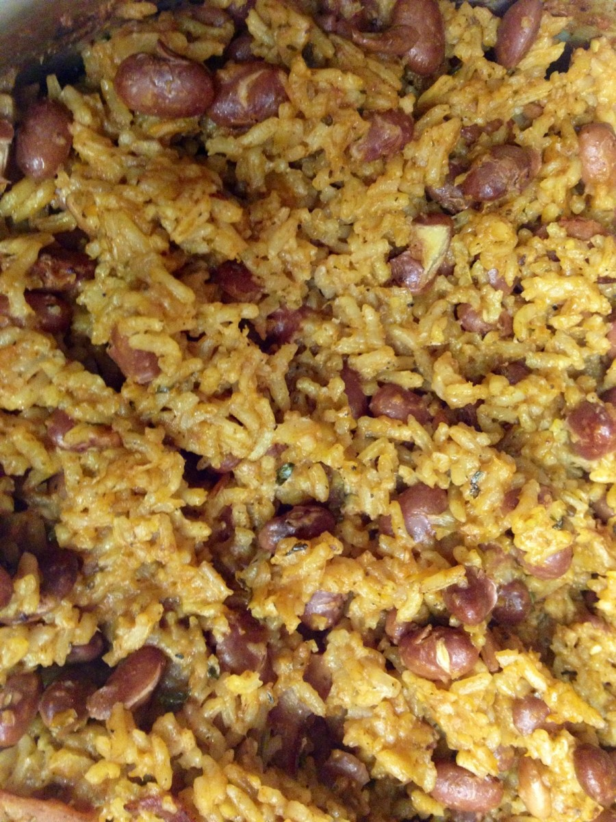Red Beans & Rice Dish