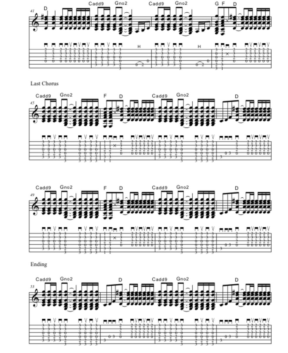 Rock Guitar Lessons Wanted Dead Or Alive Bon Jovi