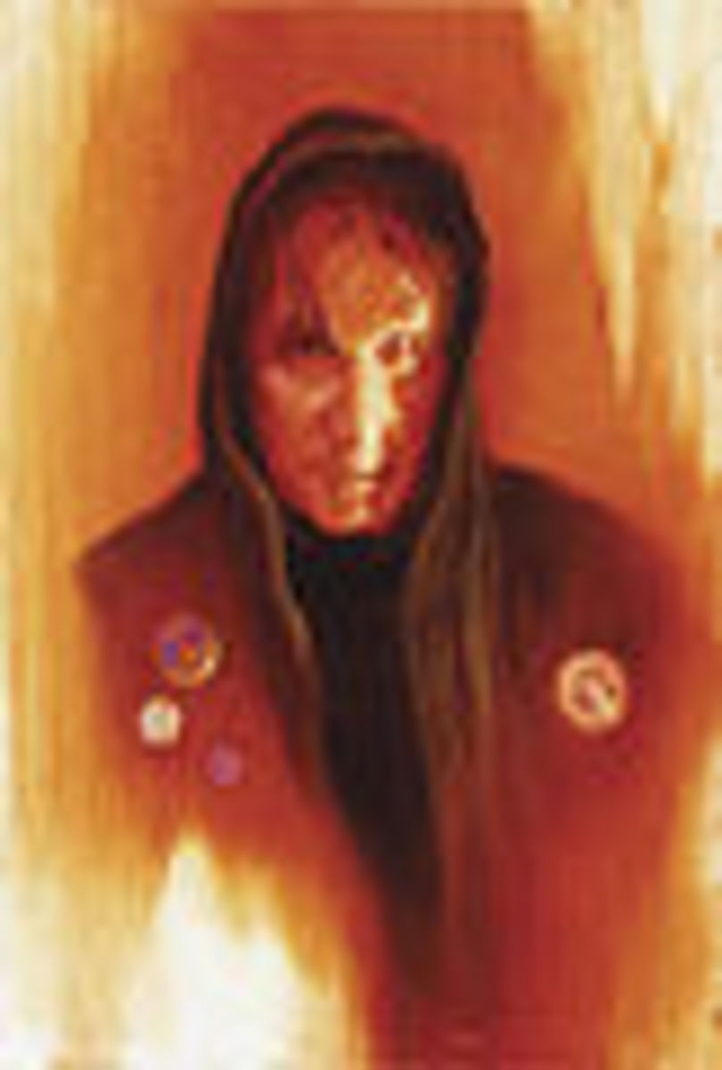 Artist Michael Whelan's depiction of Randall Flagg