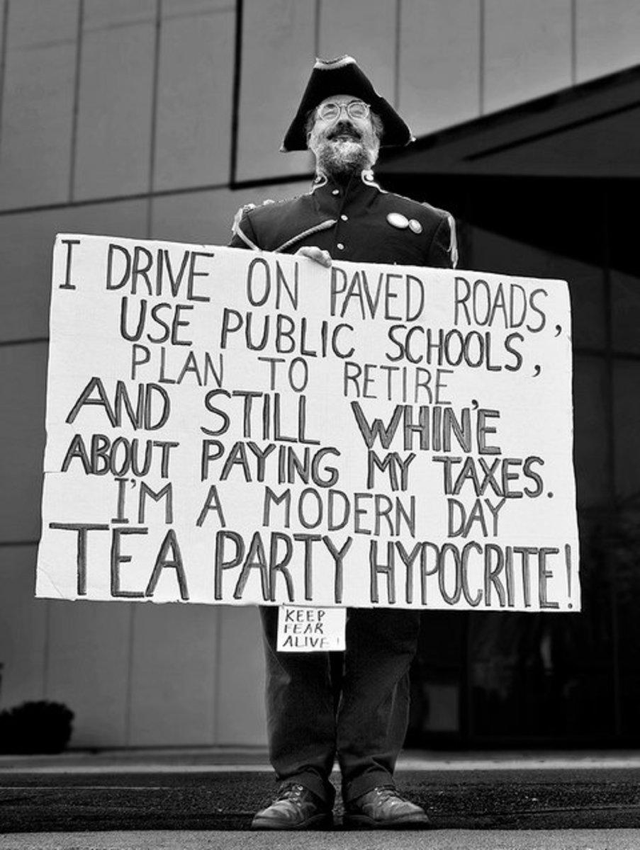 Tea Party Hypocrite