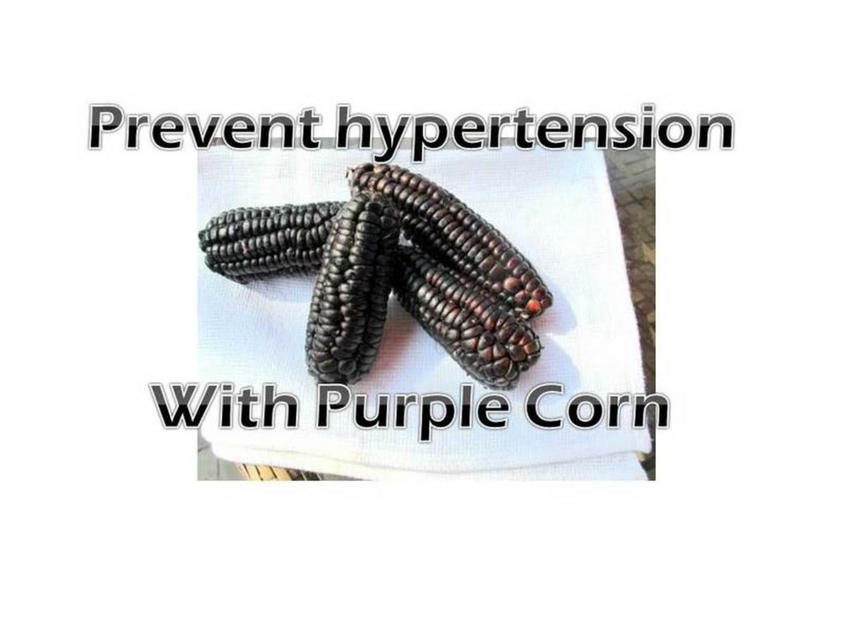 Purple Corn or Maiz Morado: Health Benefits
