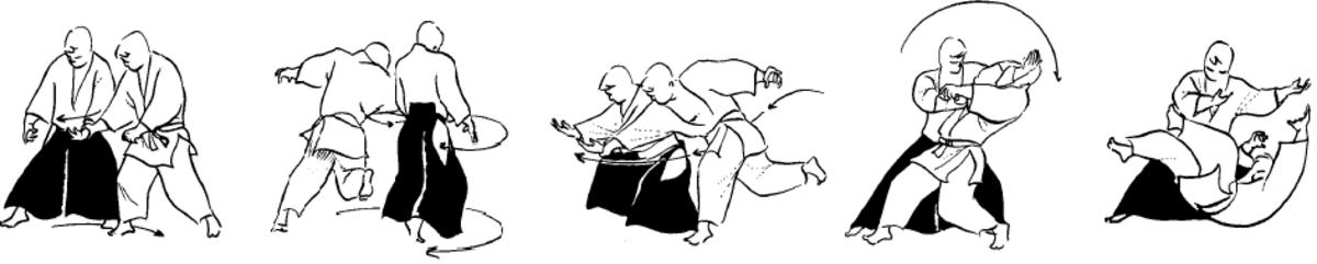 Katate Dori Gyaku Hanmi Kokyu Nage