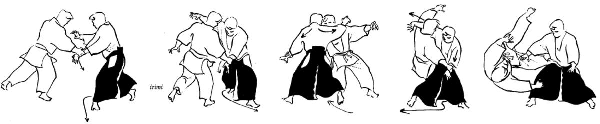 Katate Dori Gyaku Hanmi Tenchi Nage