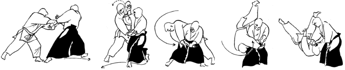 Katate Dori Gyaku Hanmi Koshi Nage