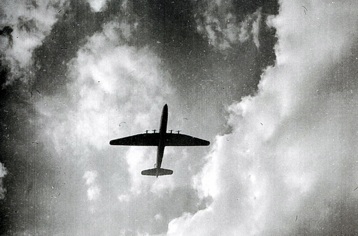 Bristol Brabazon in flight
