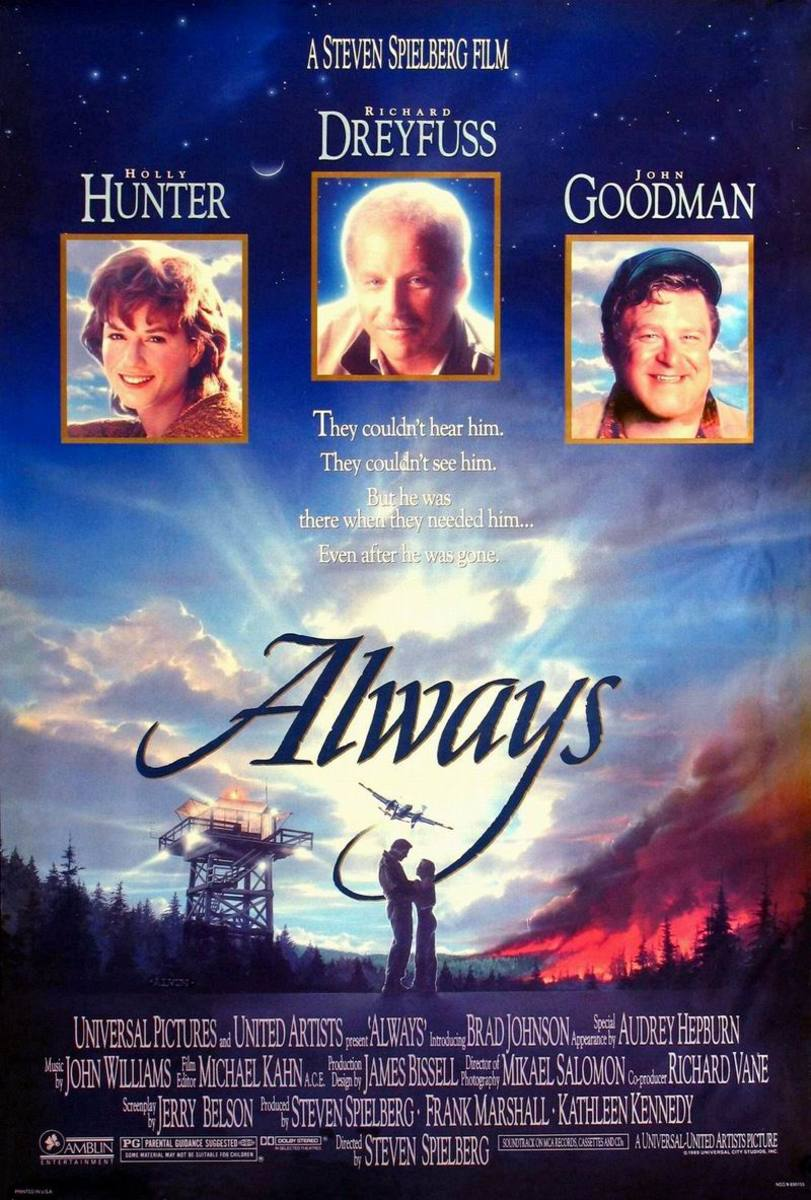 Always (1989) poster art by John Alvin