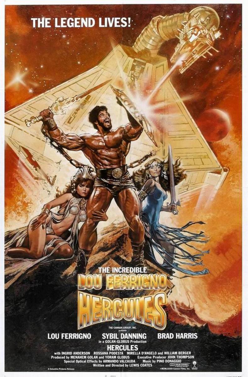 Hercules (1983) poster art by Drew Struzan