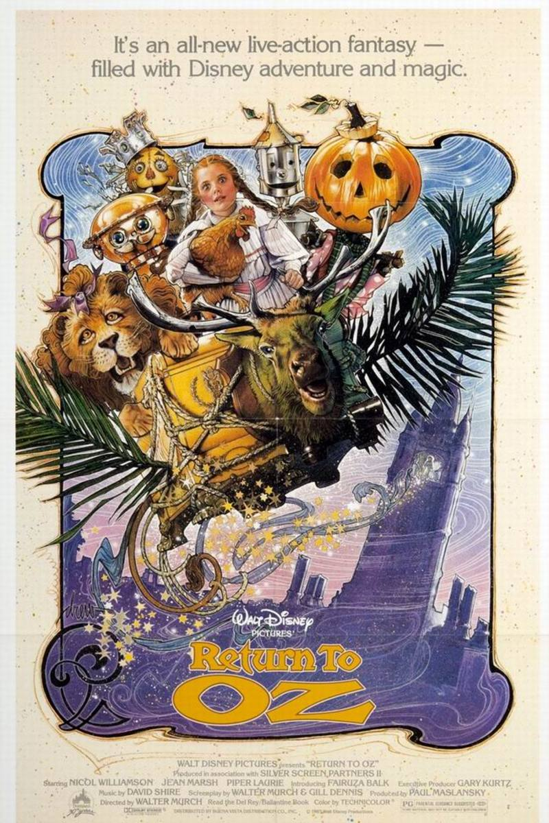 Return to Oz (1985) poster art by Drew Struzan