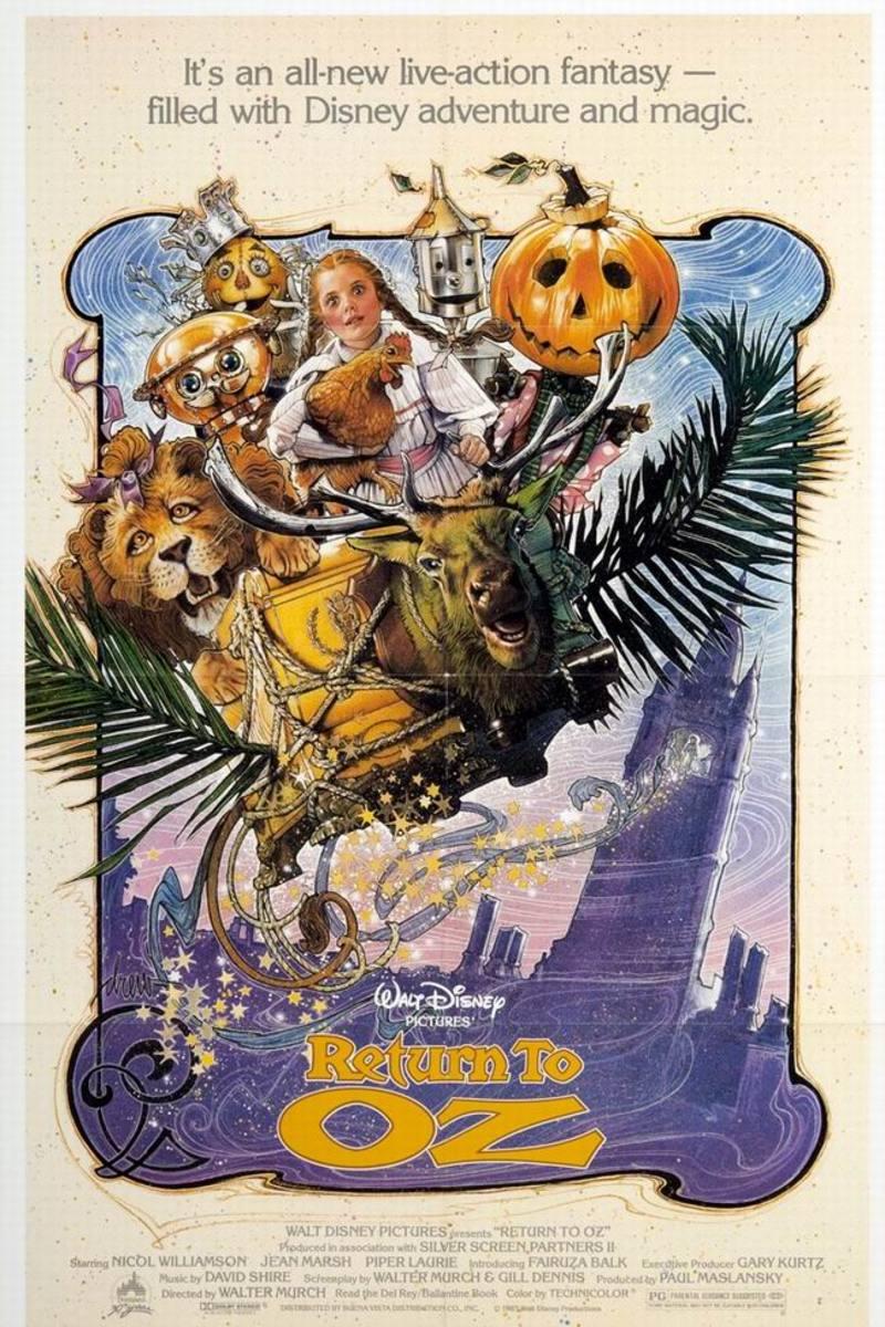 Return to Oz (1985) poster art by Drew Struzan