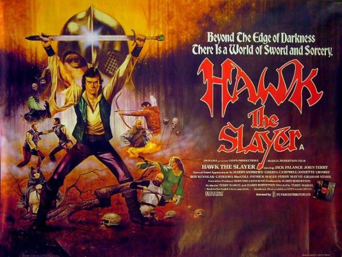 Hawk the Slayer (1980) UK poster