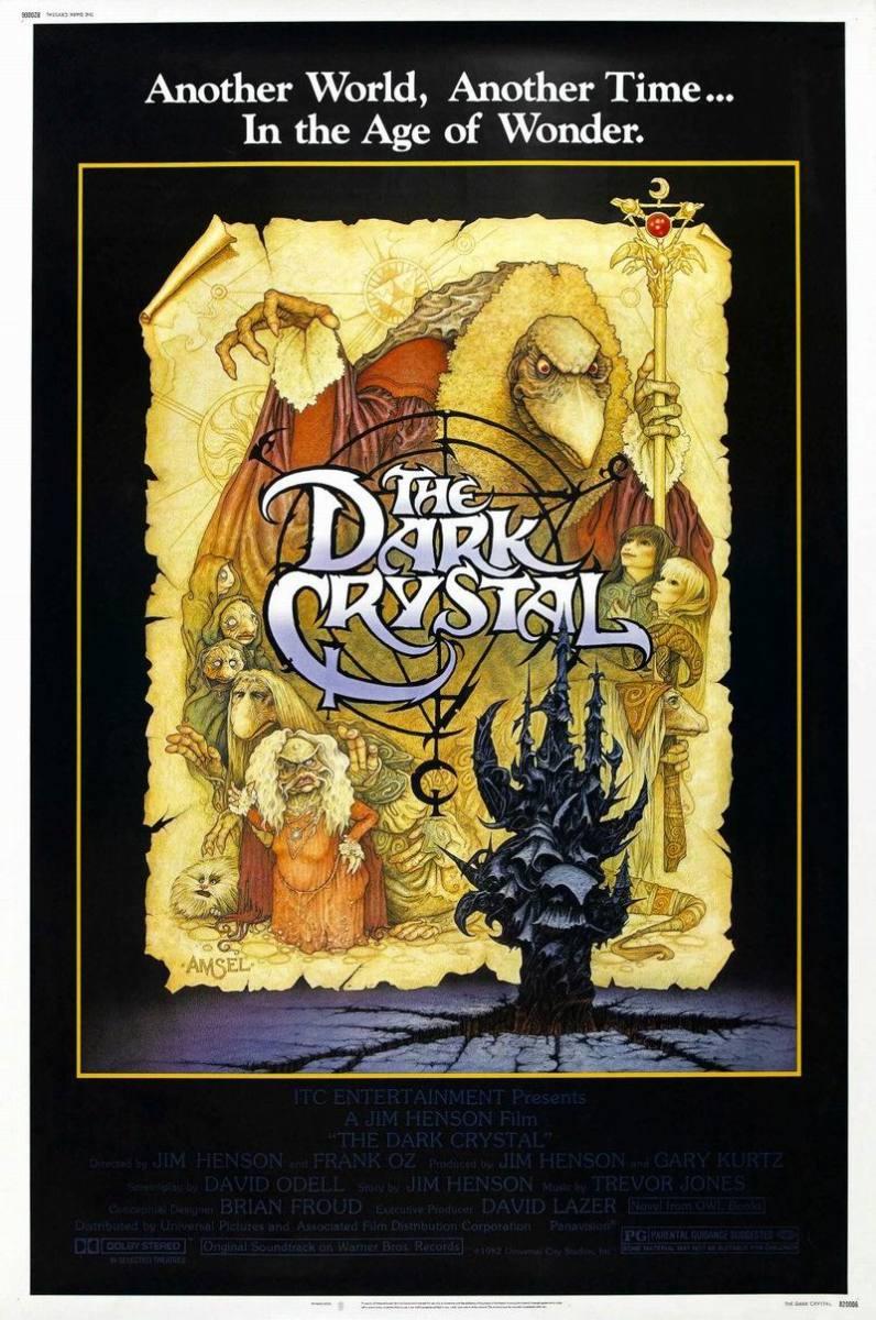 The Dark Crystal (1982) poster art by Richard Amsel