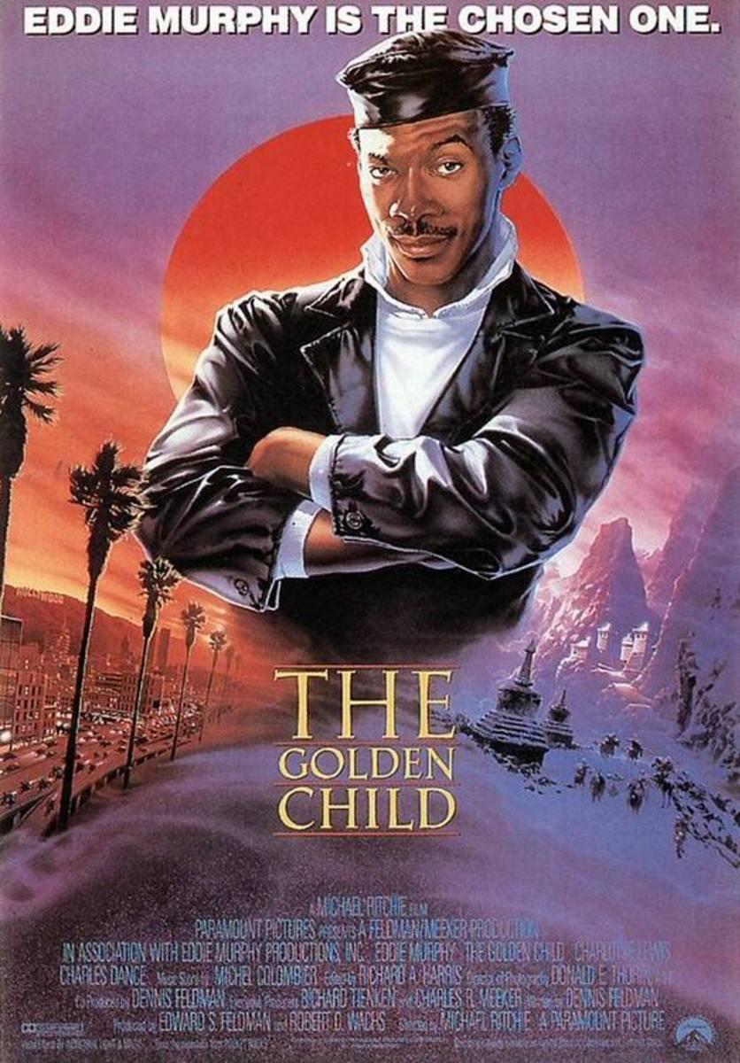 The Golden Child (1986) poster art by John Alvin