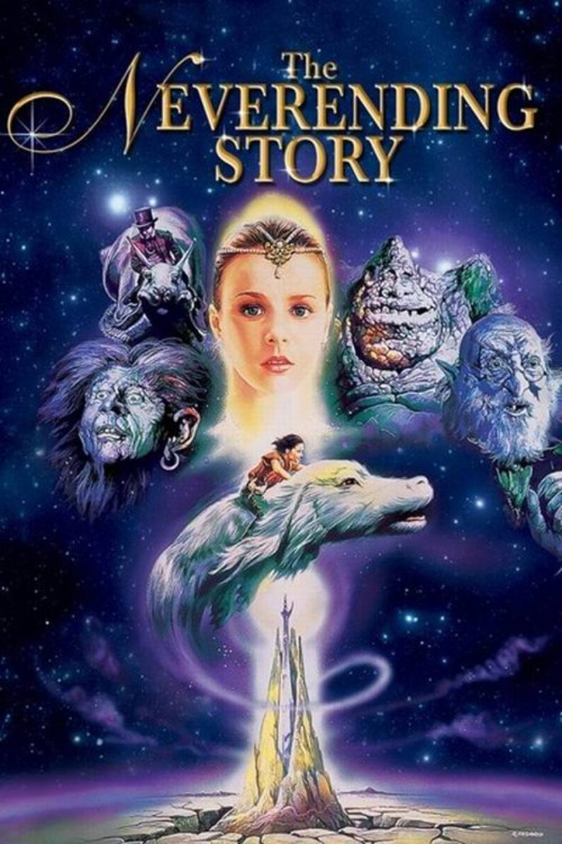 The NeverEnding Story (1984) poster art by Renato Casaro