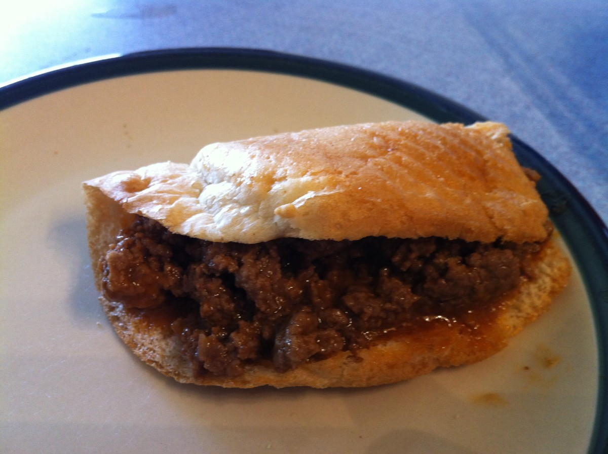 Mouth Watering Pennsylvania Dutch BBQ Beef Sandwich