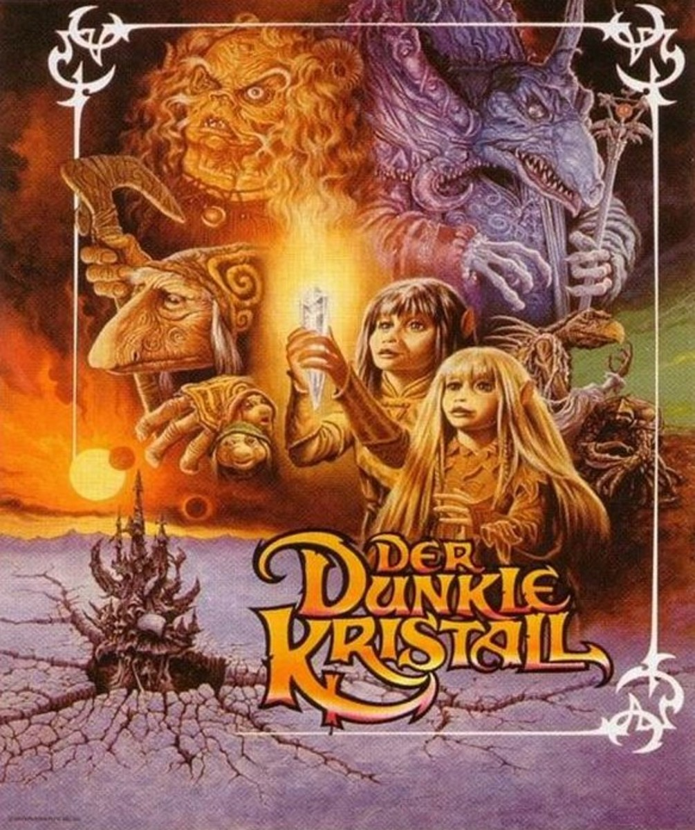The Dark Crystal (1982) German poster