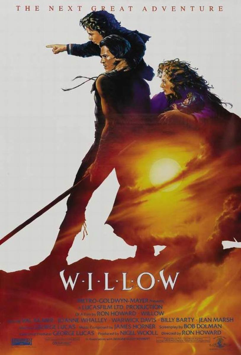 Willow (1988) poster art by John Alvin