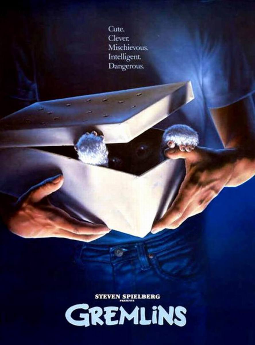 Gremlins (1984) poster art by John Alvin
