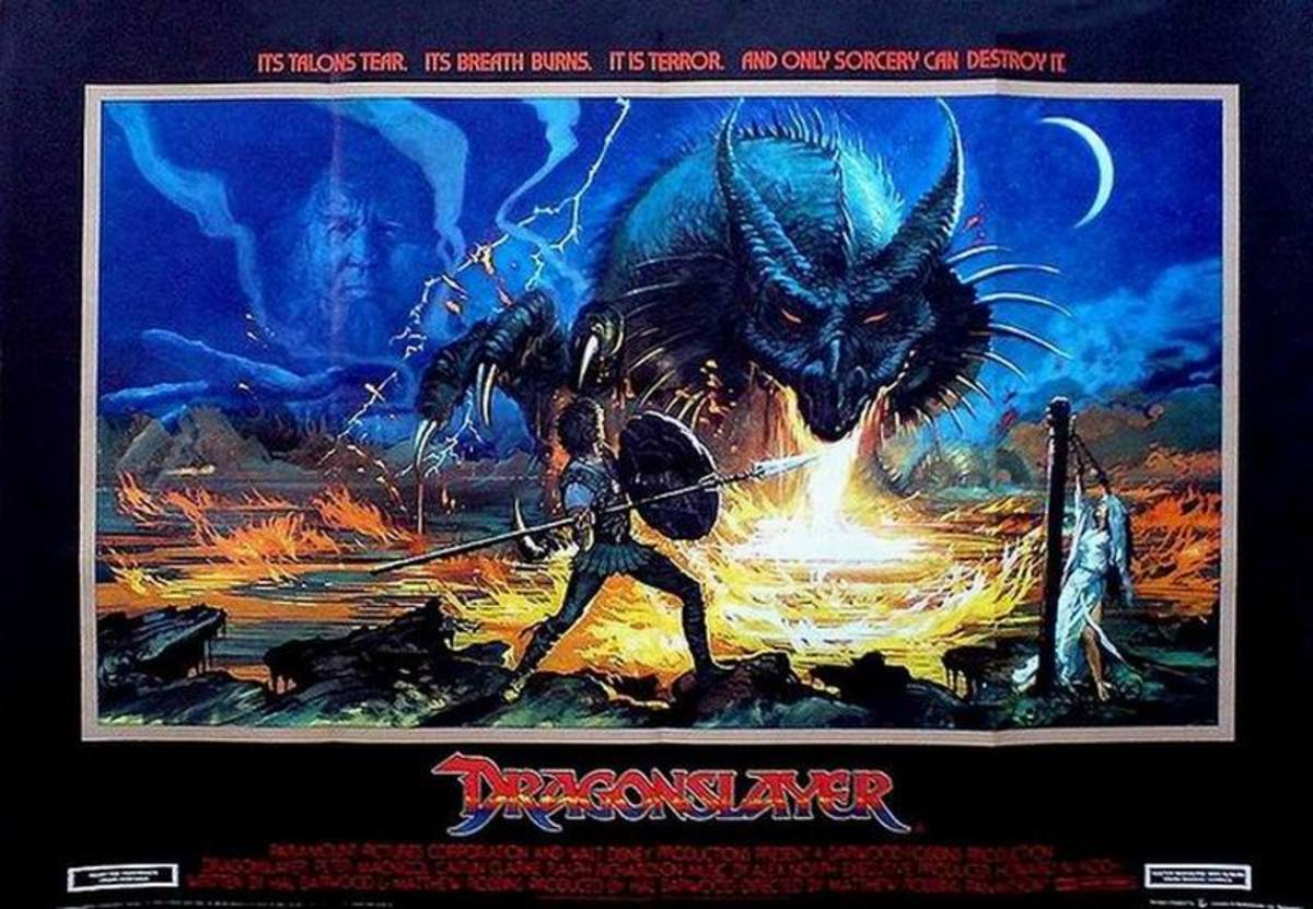Dragonslayer (1981) UK poster