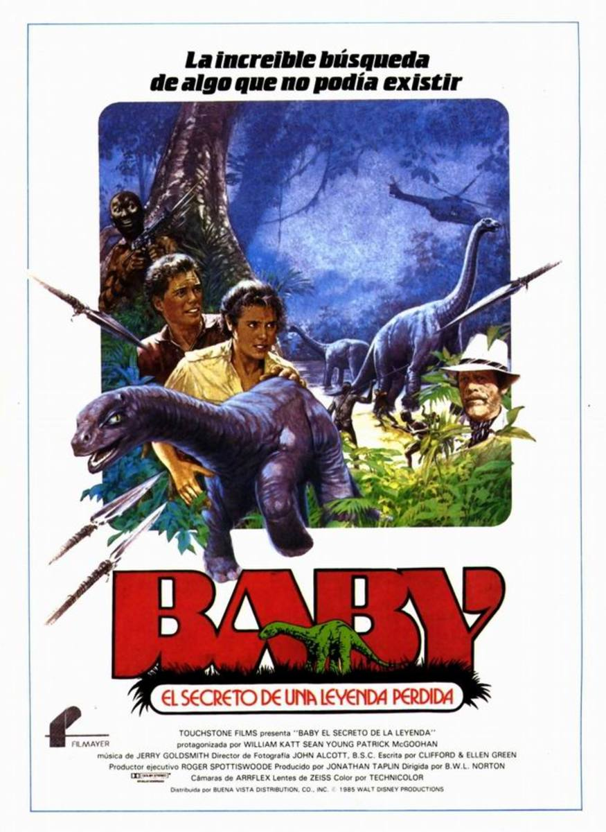Baby: Secret of the Lost Legend (1985) Spanish poster