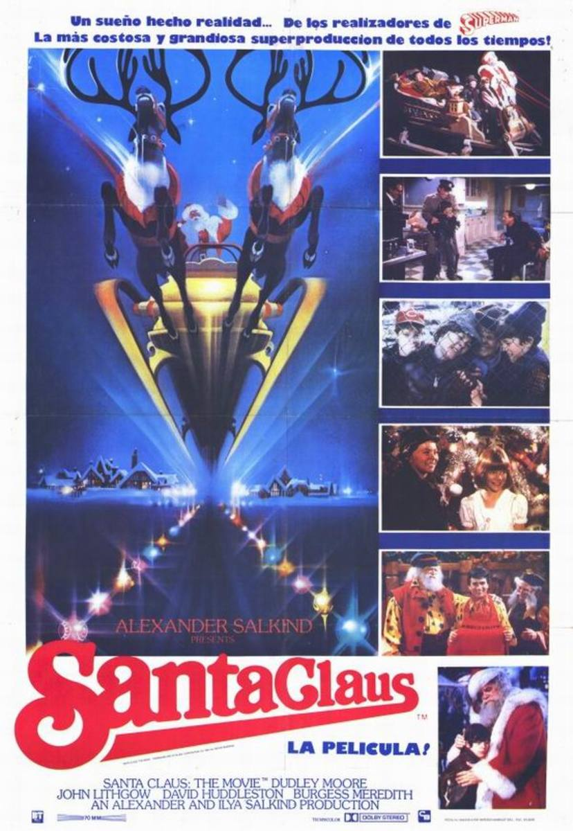 Santa Claus the Movie (1985) Spanish poster