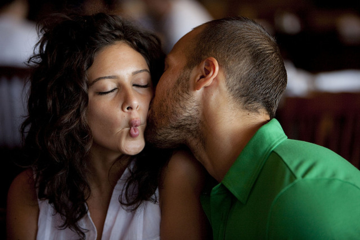 Loving the goofiness in your partner means loving the whole person.