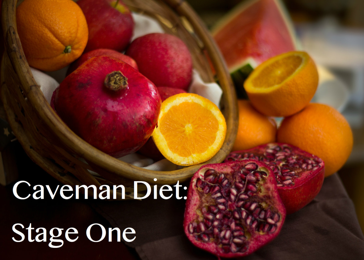 For the first stage, which can last between two and four weeks, eat plenty of fruit during the day.