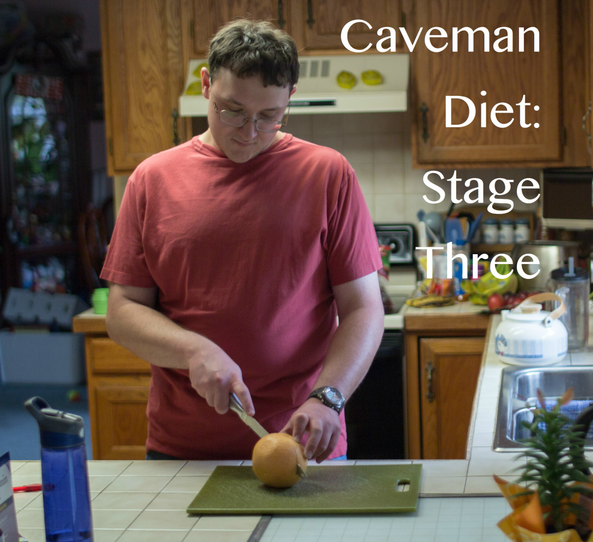 Follow the final stage of the caveman diet for as long as you want. The longer you follow it, the more second-nature it will become.