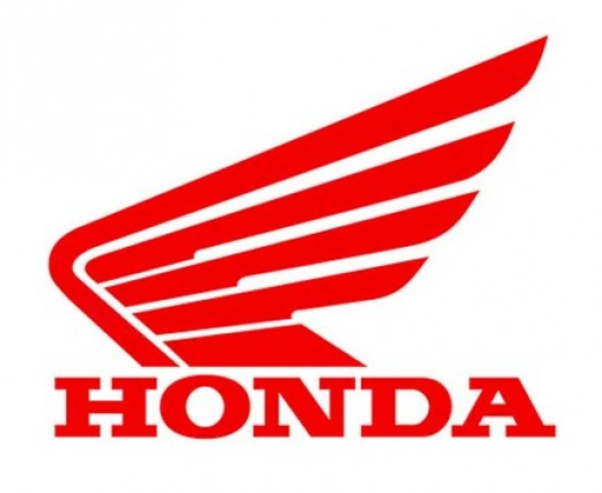 Honda logo for motorbikes. Nice wings