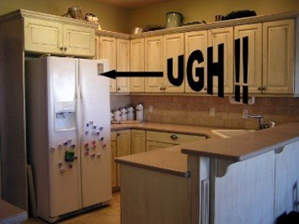 What's wrong with this new kitchen?