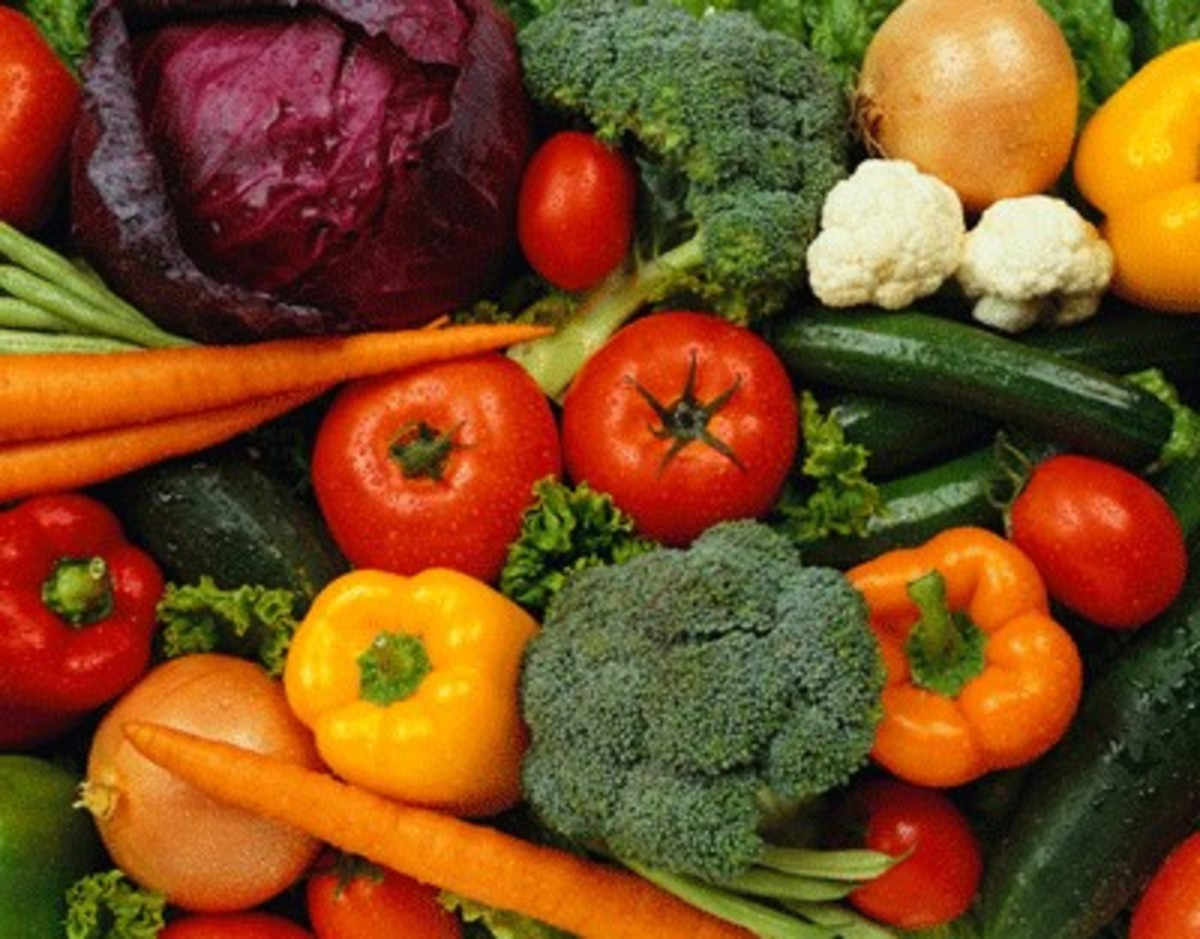 Some fruits and vegetables that we eat are sources of sodium.