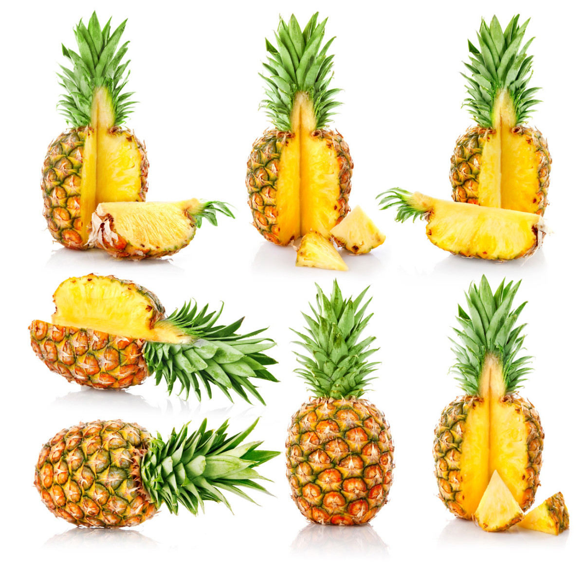 "Two slices of pineapple ( 3"" diameter, 3/4"" thick)  contains 10 mg of sodium."