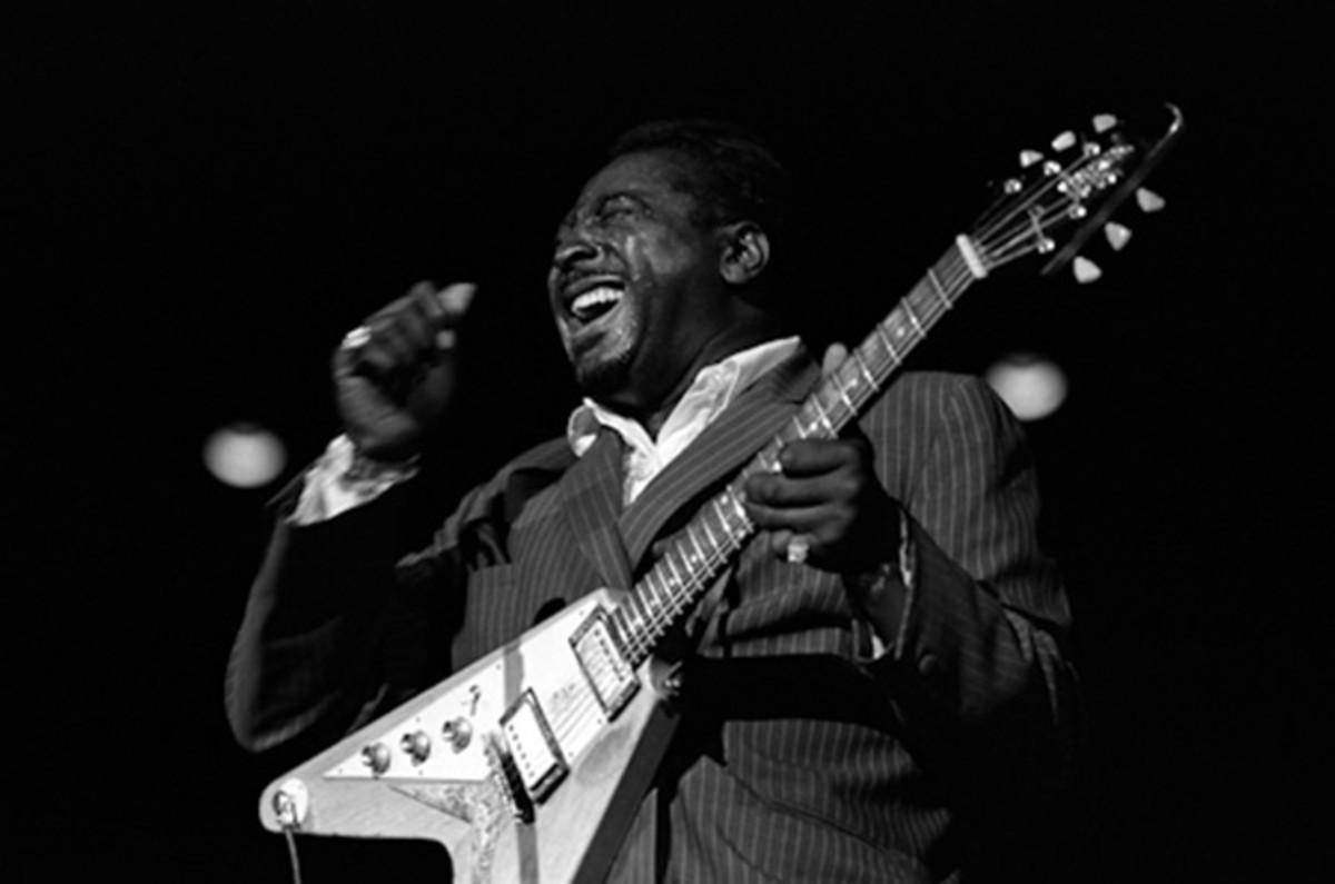 Albert King ~ Inducted Into The Rock And Roll Hall Of Fame