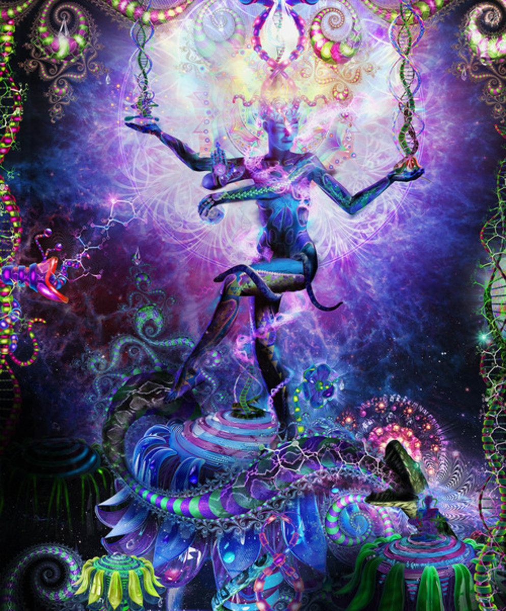 DMT Spirit Woman