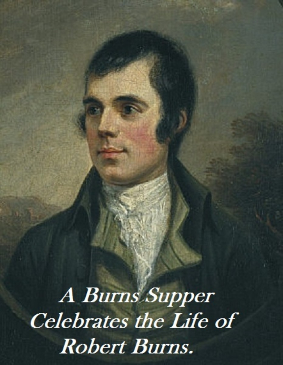 Celebrate the life of Robert Burns with a Burns Supper.