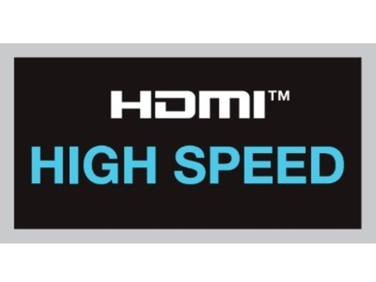 Look for the HDMI High Speed Logo (with or without ethernet channel)