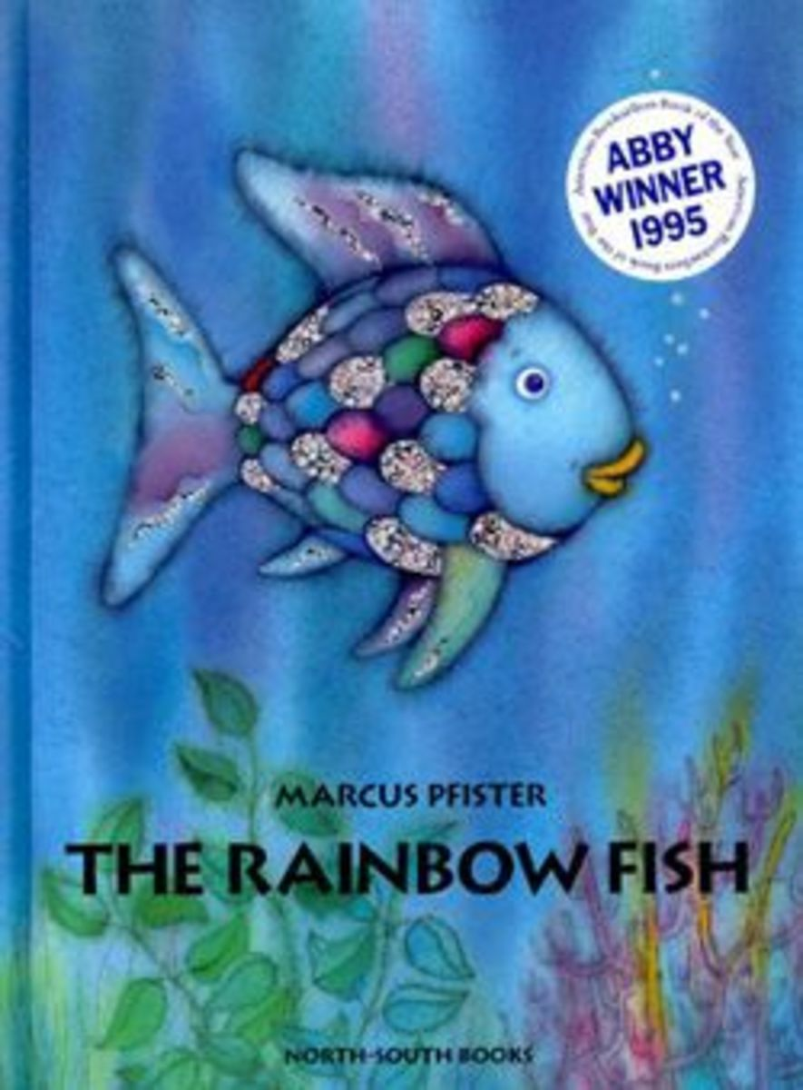 Image credit of The Rainbow Fish by www.teachingchildrenphilosophy.org