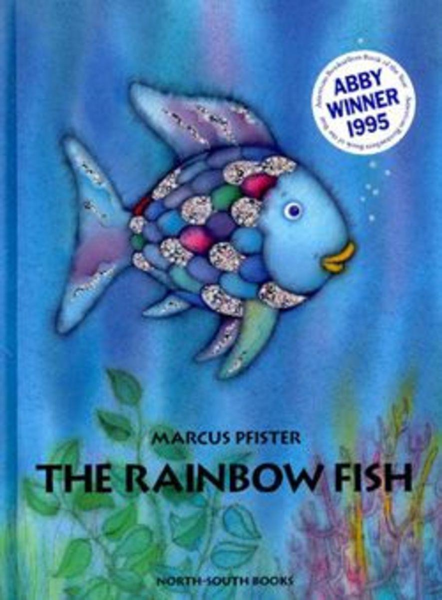 Image credit of The Rainbow Fish by www.teachingchildrenphilosophy.org