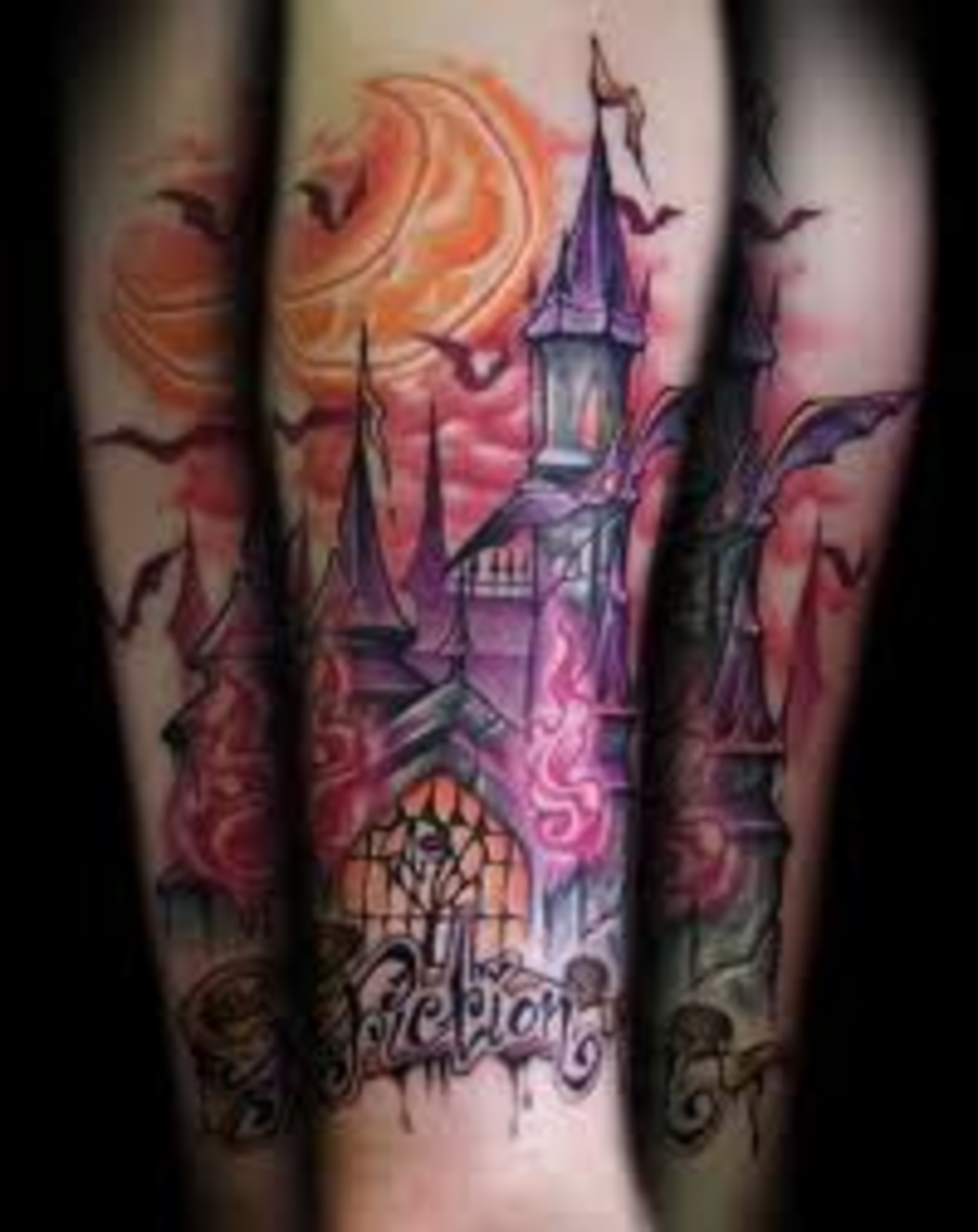 Castle Tattoo Designs And Meanings-Castle Tattoo Ideas And Pictures