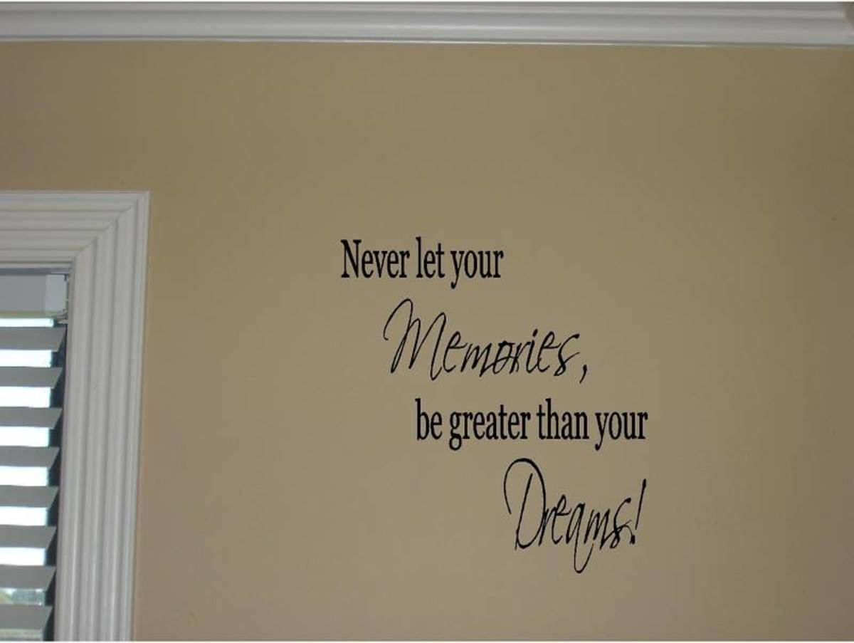 Black Motivational Fitness Saying on a Tan Wall