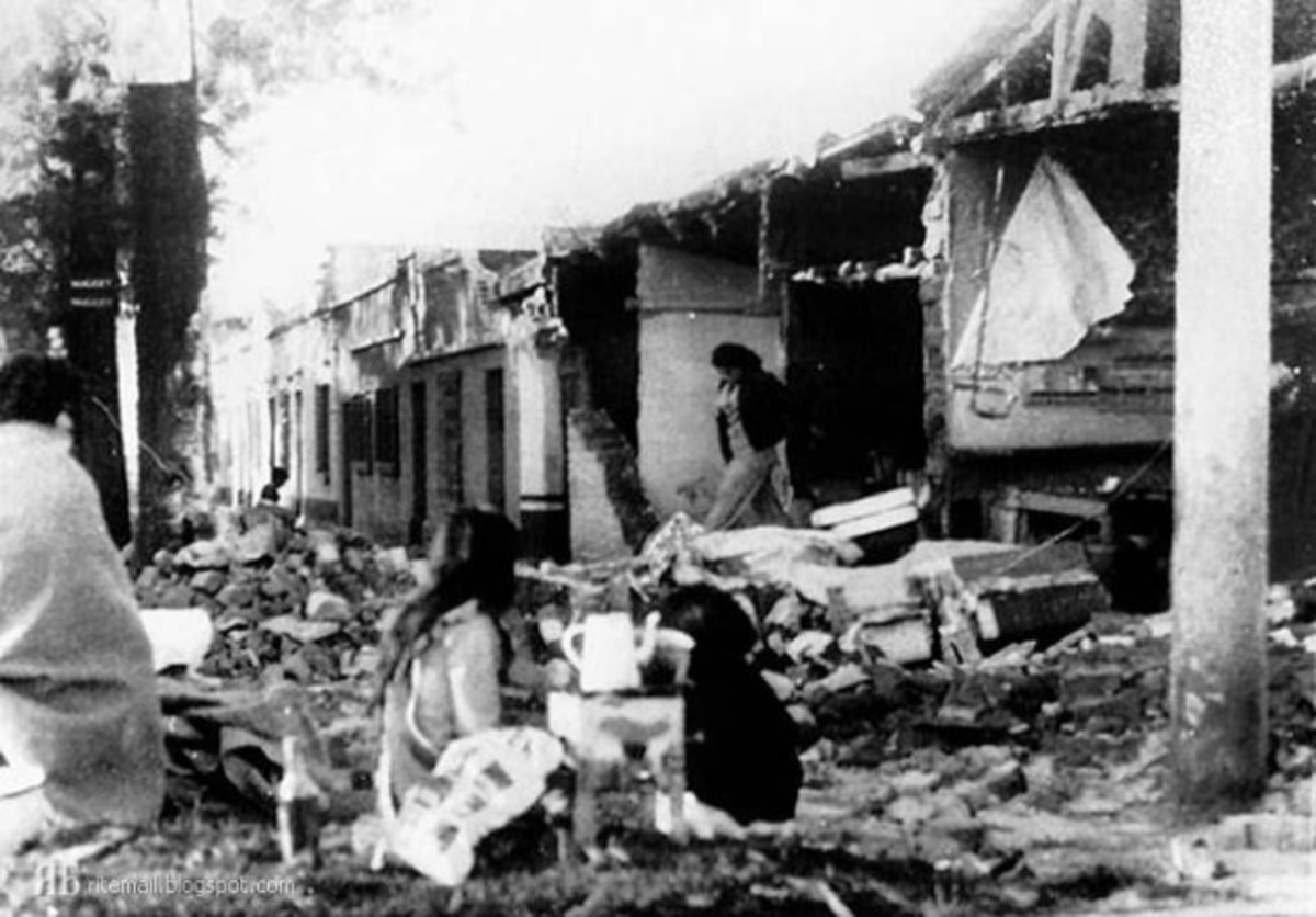 Following the 7.5 magnitude Guatemala earthquake of February 4, 1976.
