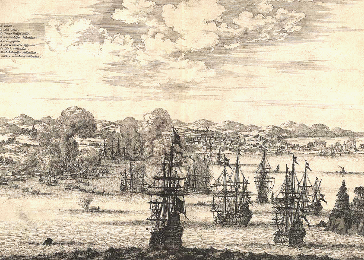 Callao, 16 years before being destroyed by the 20 October 1687 earthquake.